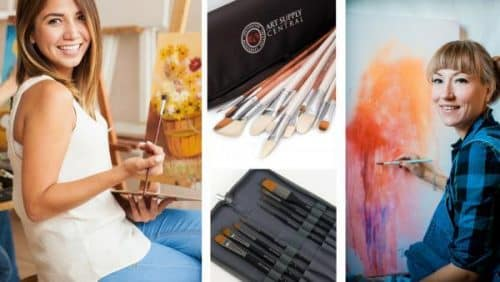 Artist Brushes For Oil Paint And Oil Painting Launched In UK